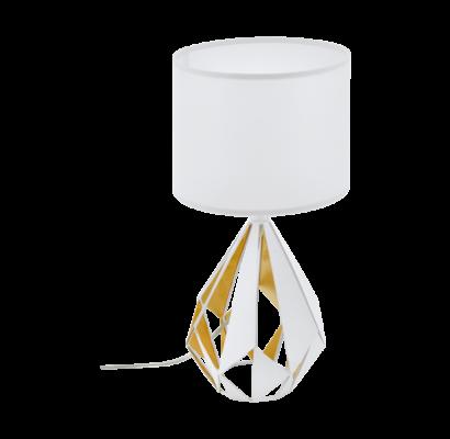43078 EGLO CARLTON 5 - textil asztali lámpa