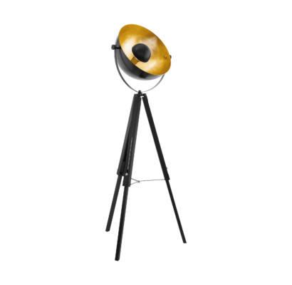49618 EGLO COVALEDA - fekete, réz állólámpa
