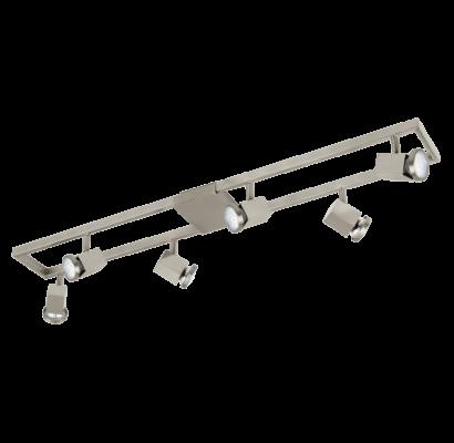 93679 EGLO ZERACO LED 6 égős spot lámpa