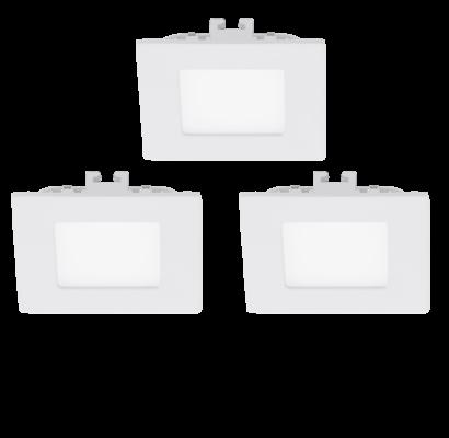 94733 EGLO FUEVA 1 - LED süllyesztett lámpa 3 db-os szett
