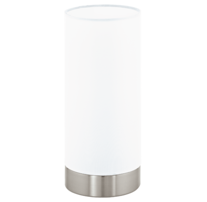 95118 EGLO PASTERI szabályzós textil asztali lámpa