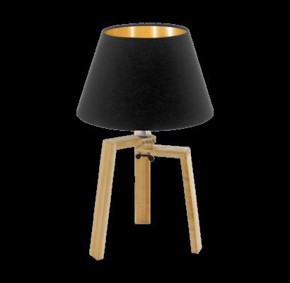 97515 EGLO CHIETINO textil burás asztali lámpa