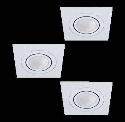 98637 EGLO AREITIO LED süllyesztett lámpa 3db-os szett