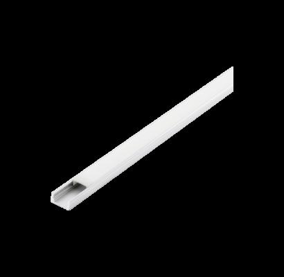 98914 EGLO SURFACE PROFILE 1 9mm-es 1m fehér led profil opál diffúzorral