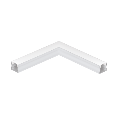 98926 EGLO SURFACE PROFILE 2 fehér led profil sarok elem opál diffúzorral