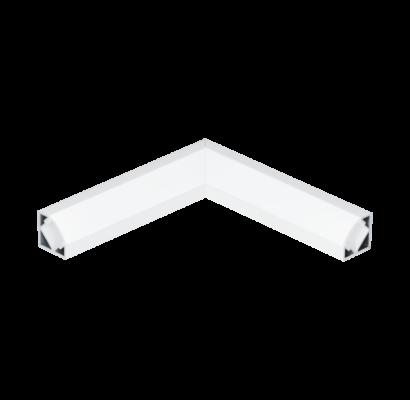 98961 EGLO CORNER PROFILE 2 fehér led sarok profil bal sarok elem opál diffúzorral