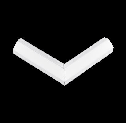 98962 EGLO CORNER PROFILE 2 fehér led sarok profil jobb sarok elem opál diffúzorral