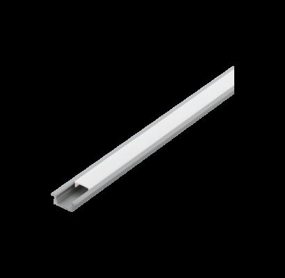 98977 EGLO RECESSED PROFILE 1 9mm-es 1m alumínium süllyeszthető led profil opál diffúzorral